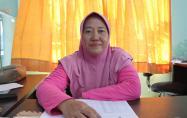 Krisna Ningsih, S.P. kasi Kesehatan Hewan dan Kesehatan Masyarakat Venteriner Dinas Pertanian Kabupaten Bangka