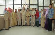 Foto Bersama Bupati Bangka dengan Perwakilan Sekolah Sehat