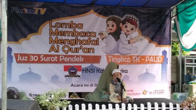 77 Anak Usia Dini Ikuti Lomba Hafizh Al Quran Juz 30